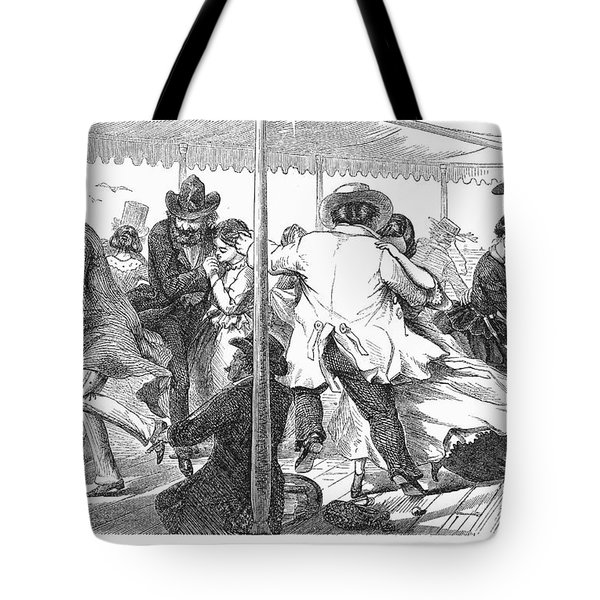 Dance: Polka, 1858 Tote Bag by Granger