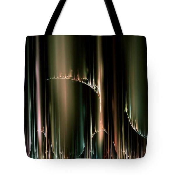 Dancing Auroras Curtains In The Sky Tote Bag