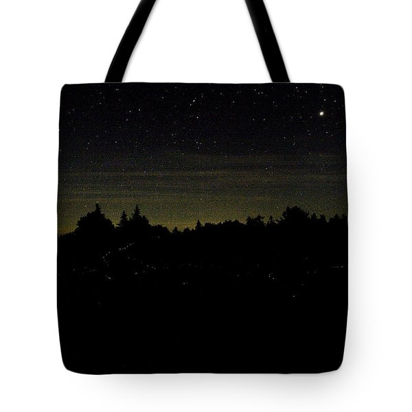 Tote Bag featuring the photograph Dancing Fireflies by Brent L Ander