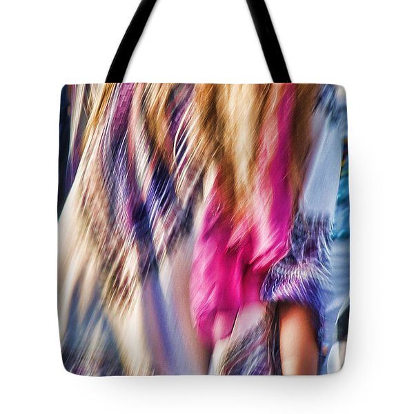 Dancing Hippie Tote Bag