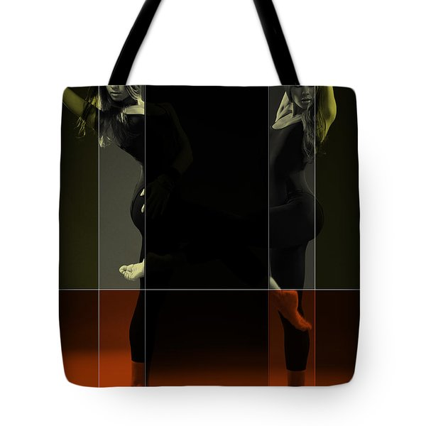 Dancing Mirrors Tote Bag