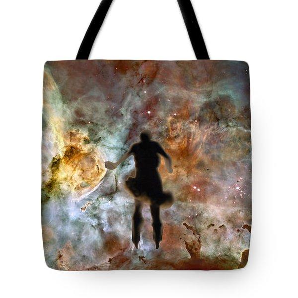 Dancing Nebula Tote Bag