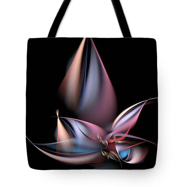 Dancing Pastels Tote Bag