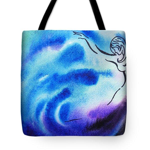 Dancing Water I Tote Bag