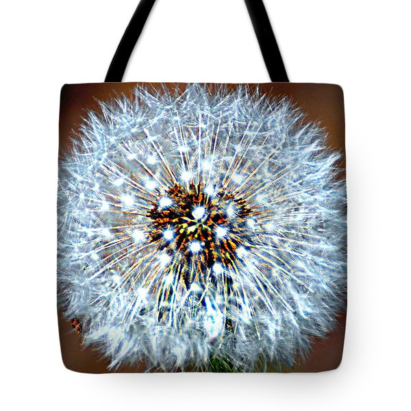Dandelion Seed Tote Bag by Marty Koch