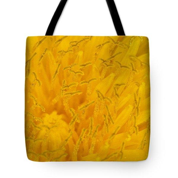 Dandelion Up Close Tote Bag