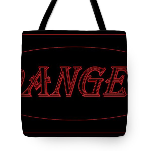 Danger Tote Bag by Dale   Ford