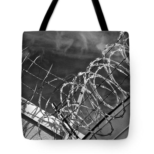 Danger Zone Tote Bag by Gwyn Newcombe