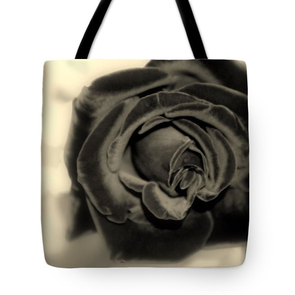 Tote Bag featuring the photograph Dark Beauty by Kay Novy