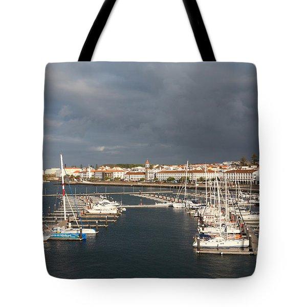 Dark Clouds Tote Bag by Gaspar Avila