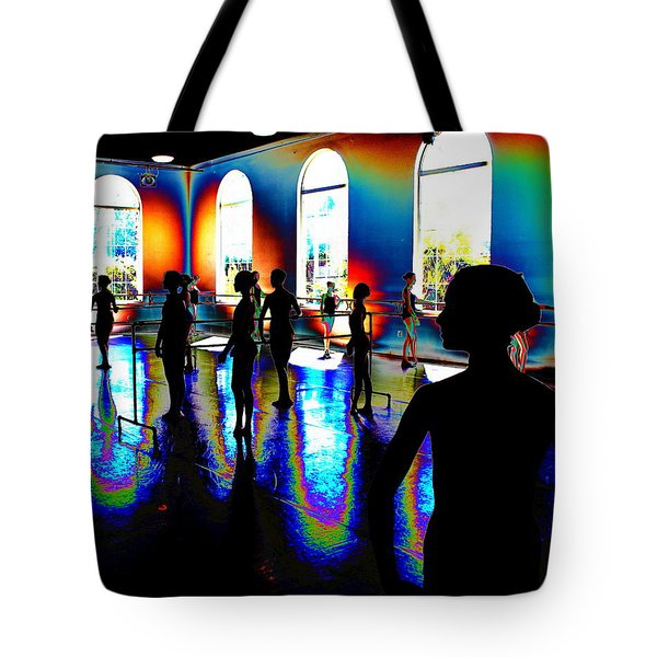 Dark Concentration Tote Bag