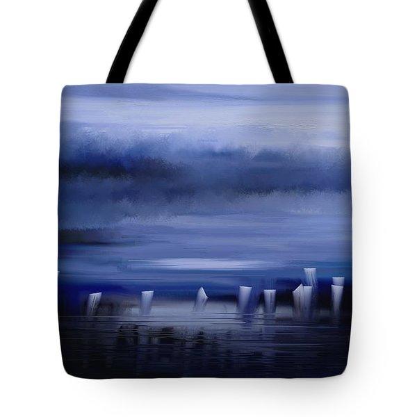 Dark Mist Tote Bag by Eleonora Perlic