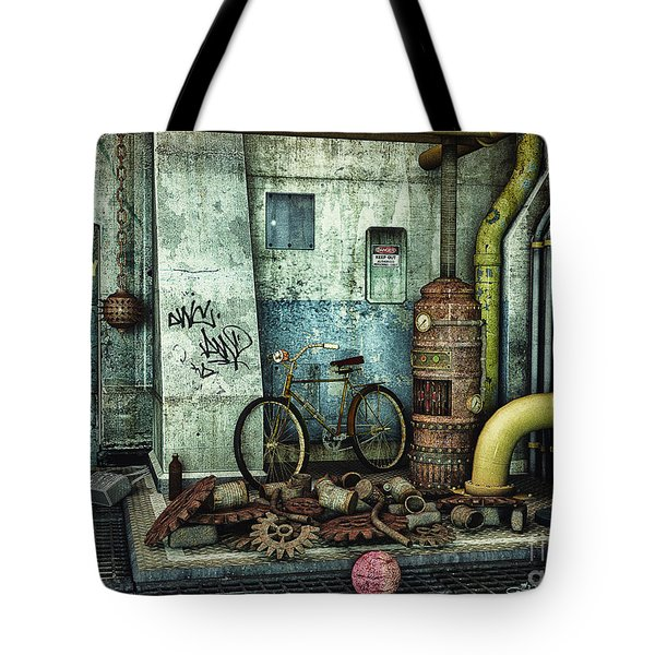 Dark Places Tell Stories Tote Bag by Jutta Maria Pusl