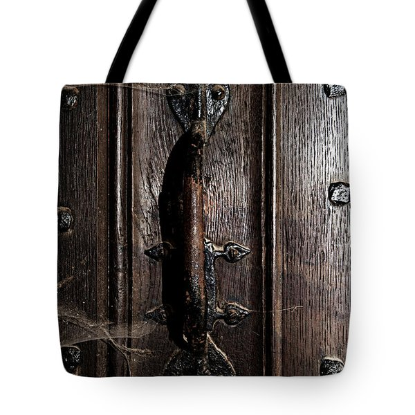 Dark Tales In The Canterbury Cathedral Tote Bag by Lisa Knechtel