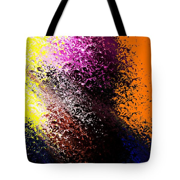 Dark Wave Tote Bag by Terence Morrissey