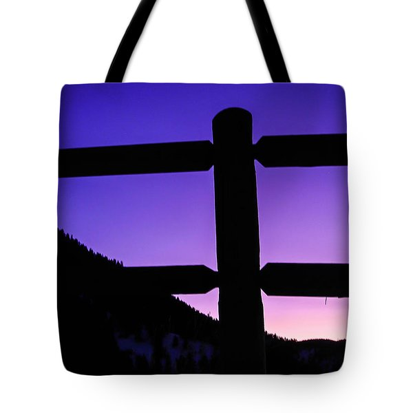 Tote Bag featuring the photograph Darkening Sky by Shannon Harrington