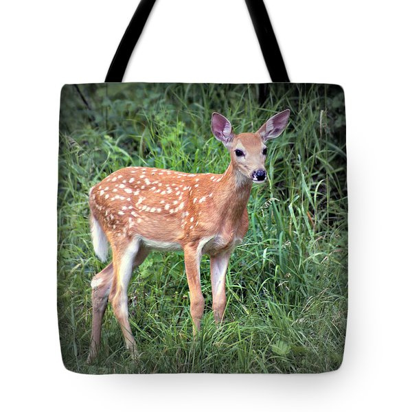 Darling Fawn Tote Bag by Marty Koch