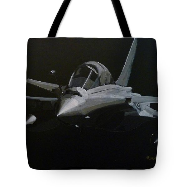 Tote Bag featuring the painting Dassault Rafale by Richard Le Page