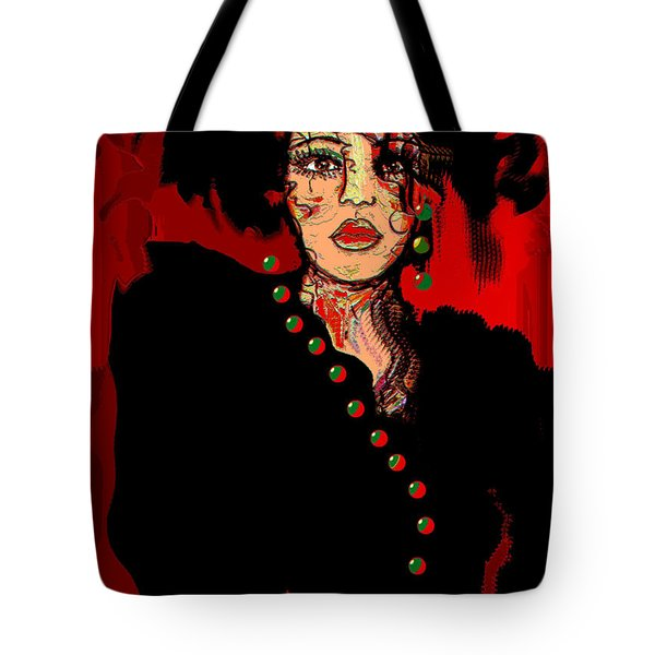 Date Night Tote Bag by Natalie Holland