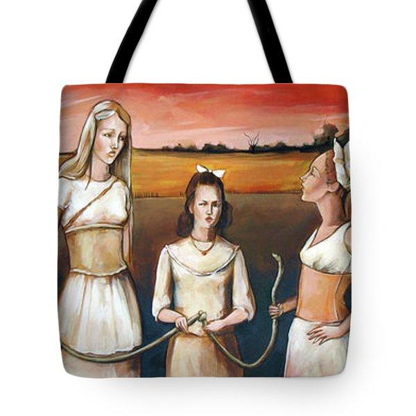 Daughter's Of Eve Tote Bag