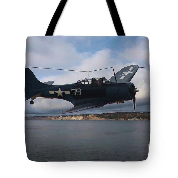 Dauntless On Patrol Tote Bag