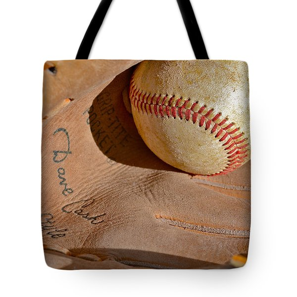 Dave Cash Mitt Tote Bag by Bill Owen