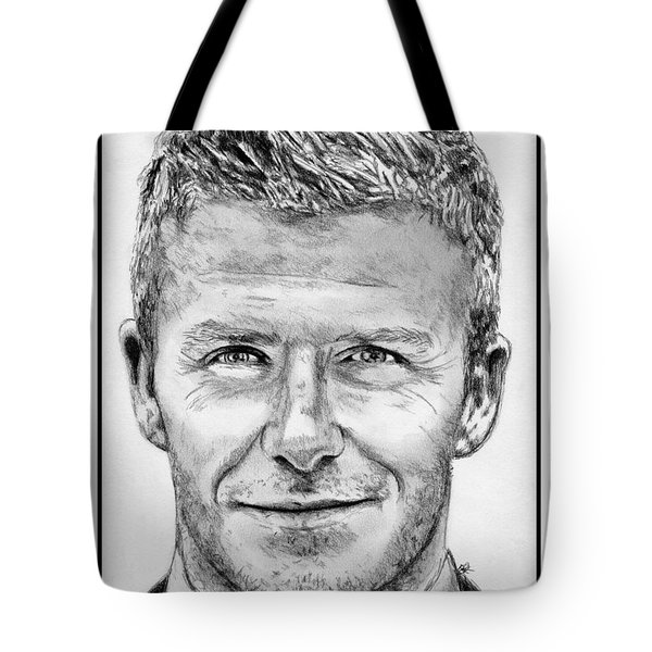 David Beckham In 2009 Tote Bag by J McCombie