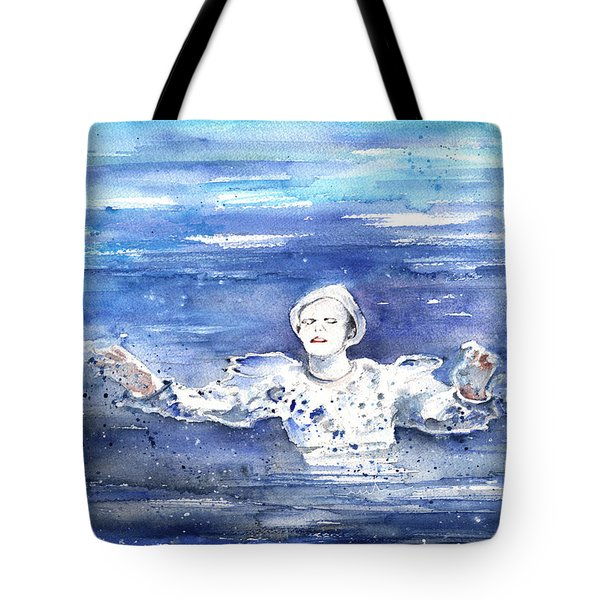 David Bowie In Ashes To Ashes Tote Bag
