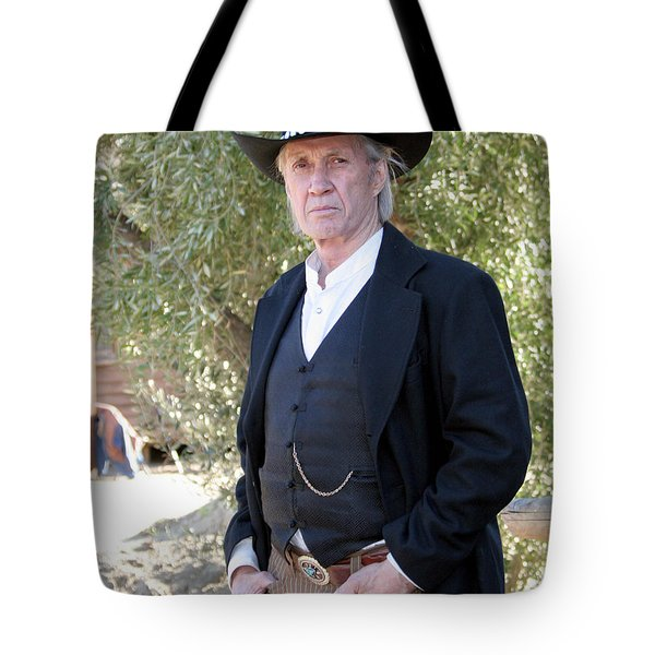David Carradine Tote Bag by Nina Prommer