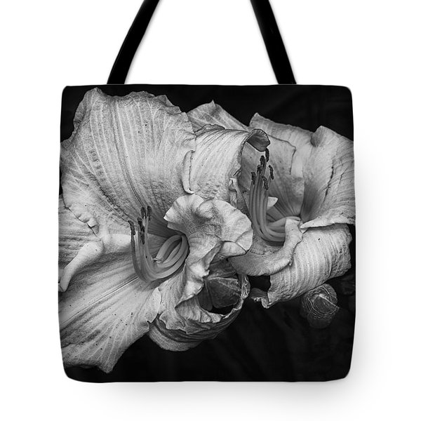 Day Lilies Tote Bag by Eunice Gibb