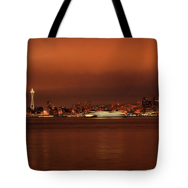 Daybreak Ferry Tote Bag