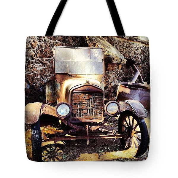 Days Of Old Tote Bag
