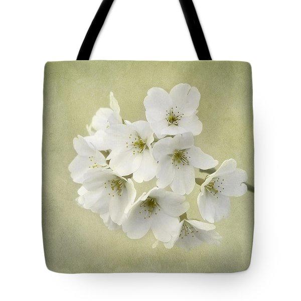 Dc Blossom Tote Bag by Kim Hojnacki