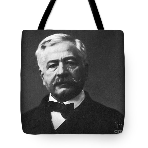 De Lesseps, French Diplomat, Suez Canal Tote Bag by Photo Researchers