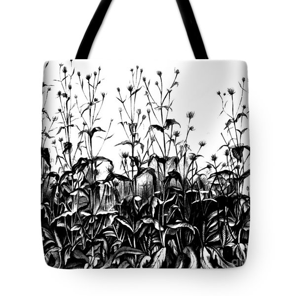 De Vries Experimental Garden Tote Bag by Science Source