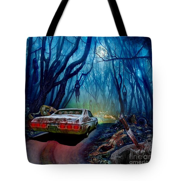 Dead End Tote Bag by Tony Koehl