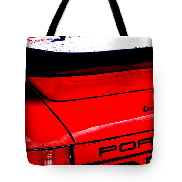 Tote Bag featuring the photograph Dead Red Turbo by John Schneider