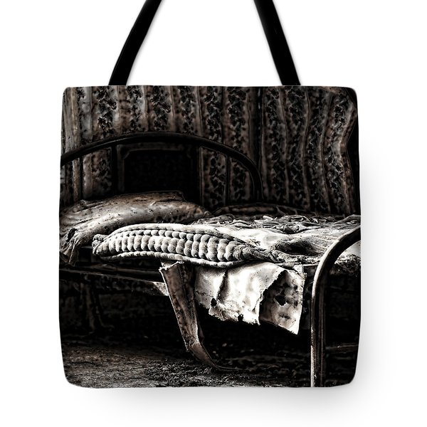 Dead Sleep Tote Bag by Empty Wall