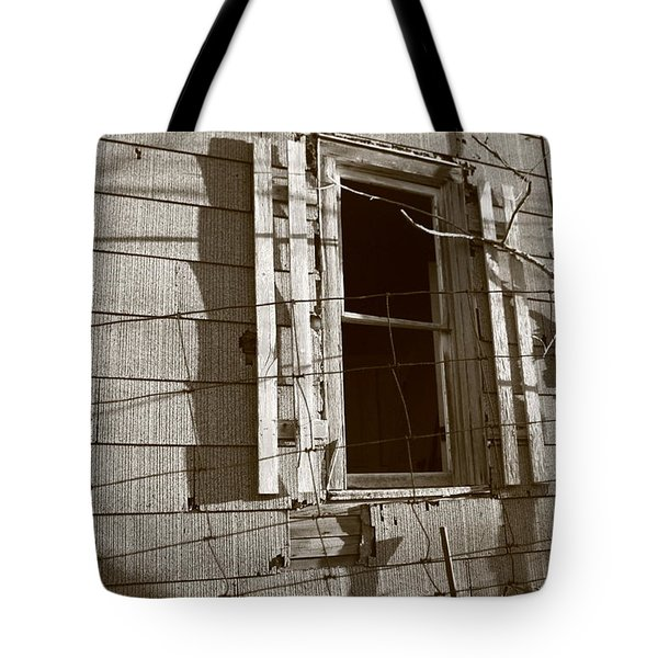 Dead Window Tote Bag