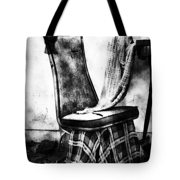 Death Of A Songbird  Tote Bag by Empty Wall