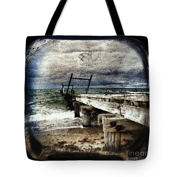 Deconstruction  Tote Bag by Andrew Paranavitana