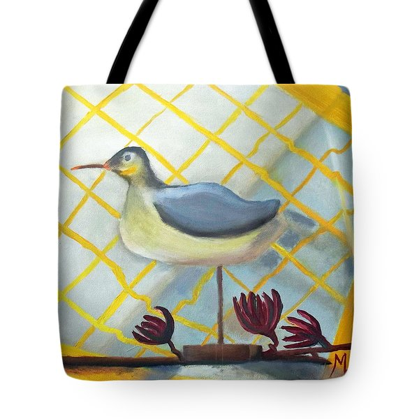 Decoy On A Stand Tote Bag by Margaret Harmon
