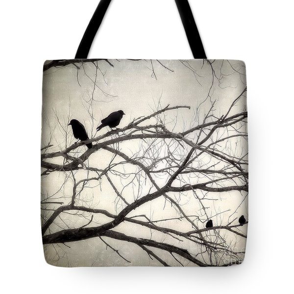 Decree At Sunset Tote Bag by Angie Rea