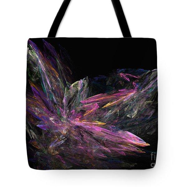 Deep Crystallization - Abstract Art Tote Bag