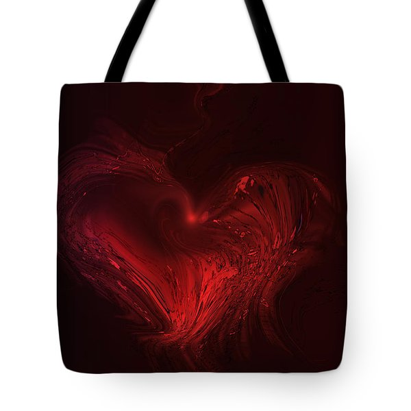Deep Hearted Tote Bag
