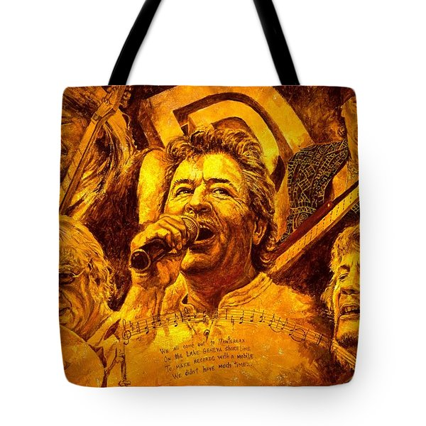 Deep Purple In Rock Tote Bag