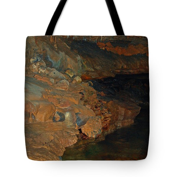 Deep Within The Earth Tote Bag by DigiArt Diaries by Vicky B Fuller
