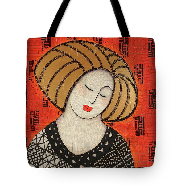 Tote Bag featuring the mixed media Deeper Still by Gloria Rothrock