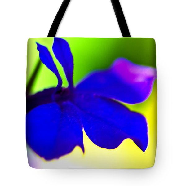 Deeply Blue Tote Bag by Marie Jamieson