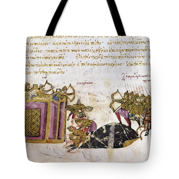 Defense Of Constantinople Tote Bag by Granger
